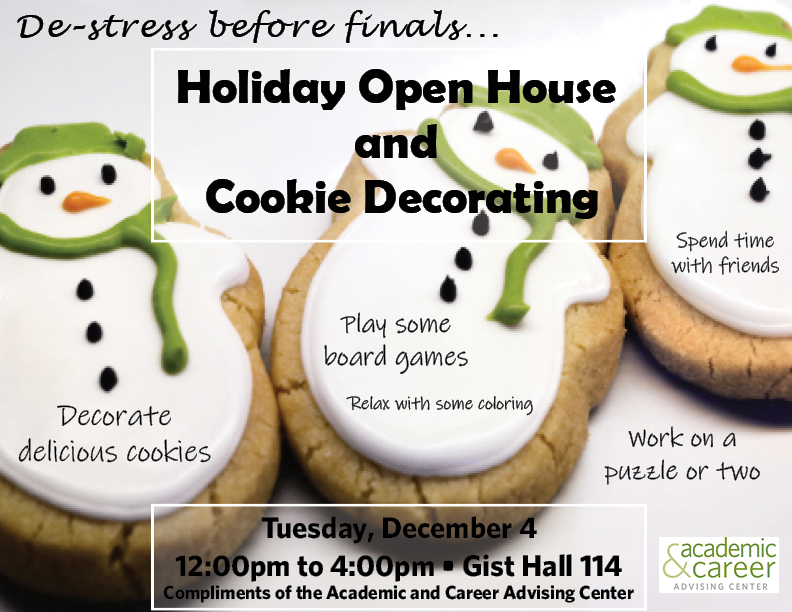 Holiday Open house December 6