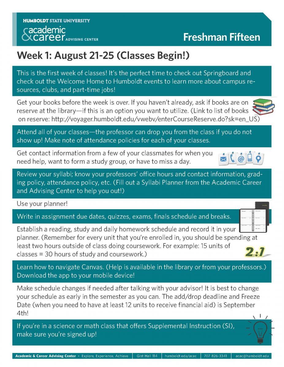 academic advising syllabus