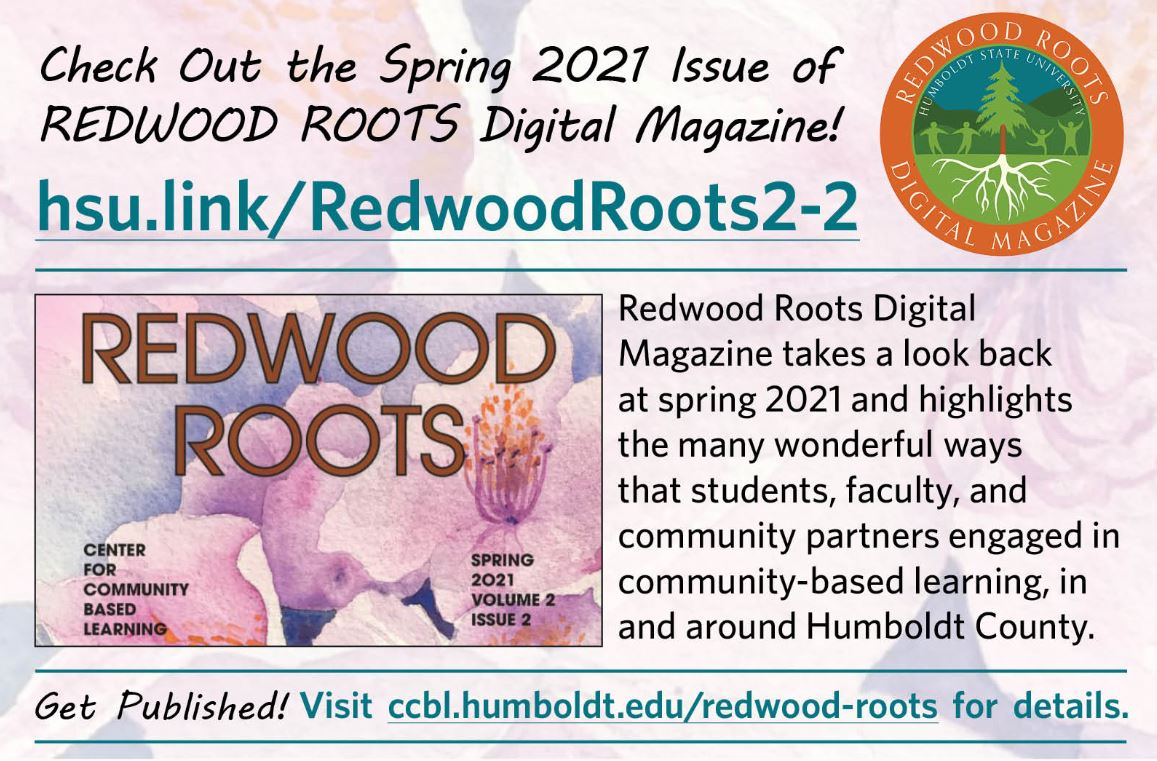 check out the new issue of redwood roots at hsu.link//redwoodroots2-2